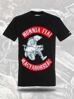 Romantikus Erőszak - Hunnia Fiai póló - fekete
