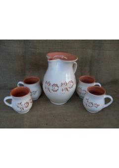 4 fős teáskészlet