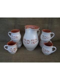 6 fős teáskészlet